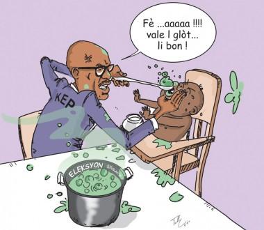 Caricature Nouvelliste Opont Élections