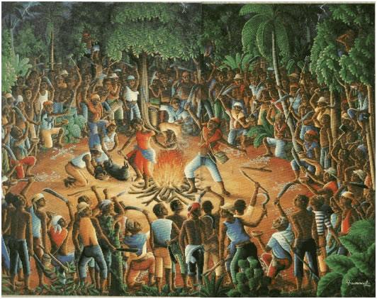 Cérémonie du Bois Caïman